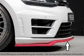 VW Golf 7 R 12-17 Накладка на передний бампер