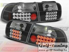 Honda Civic 91-95 2D/4D Фонари светодиодные, черные