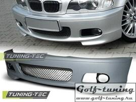 BMW E46 Купе/Кабрио 98-05 Бампер передний M-Technik Look