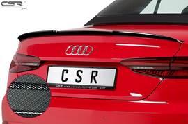 Audi A5 F5 Cabrio 16- Спойлер на крышку багажника Carbon Look
