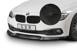 BMW 3er F30/F31 15-19 Спойлер переднего бампера Carbon look