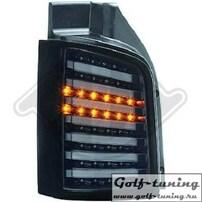 VW T5 GP 09-15 Фонари светодиодные, черно-тонированные