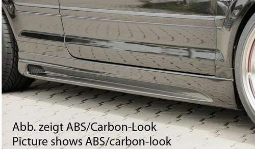 Audi A4 8H 02-05 Кабрио Накладки на пороги
