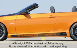 BMW E92/E93 06-13 Накладки на пороги Carbon Look