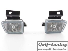 VW Golf 2, VW Jetta 2 Противотуманные фары с кронштейнами хром