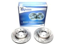 Hyundai Atos/Atos Prime Комплект спортивных тормозных дисков