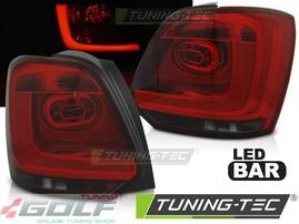 VW Polo 6R 09-14 Фонари светодиодные, красно-тонированные