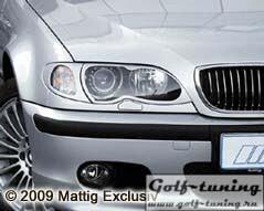 BMW E46 01-04 Накладки на фары