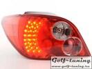 Peugeot 307 01-04 Фонари светодиодные, красно-белые