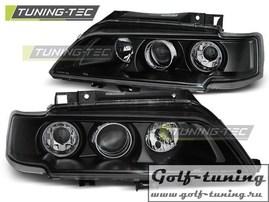 Citroen Xantia 98-01 Фары с линзами черные