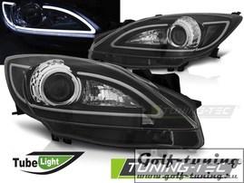 Mazda 3 09-13 Фары tube light черные