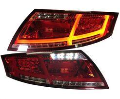 Audi TT 8J 06-14  Фонари 8S-Optik красно-белые