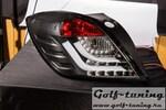 Opel Astra H GTC Фонари светодиодные, lightbar design, черные