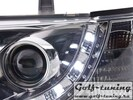 VW T4 90-96 Фары Devil eyes, Dayline хром