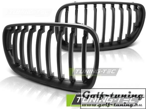 BMW X3 E83 06-10 Решетки радиатора (ноздри) черные, матовые
