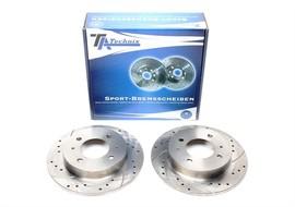 Hyundai Coupe/ Elantra/Lantra Комплект спортивных тормозных дисков