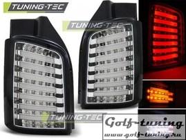 VW T5 03-15 Фонари светодиодные, хром