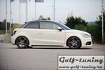 Audi A1 8X 10-14/15- Накладки на пороги