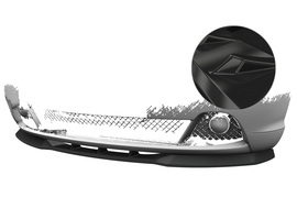 BMW 3er E46 03-06 Накладка на передний бампер глянцевая