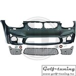 BMW E92 10-14 Передний бампер EVO4-LOOK