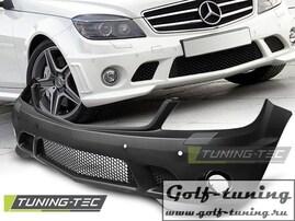 Mercedes W204 07-11 Бампер передний AMG Look
