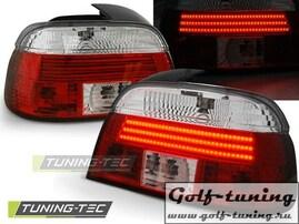 BMW E39 95-00 Фонари светодиодные, красно-белые