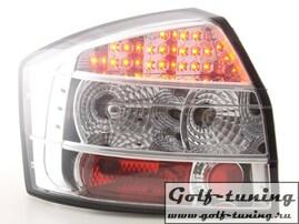 Audi A4 B6 01-04 Седан Фонари светодиодные, хром