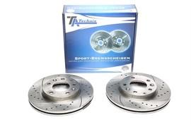 Mazda 323/626/6/Premacy Комплект спортивных тормозных дисков