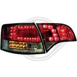 Audi A4 B7 04-08 Универсал Фонари светодиодные, красно-тонированные с светодиодным поворотником