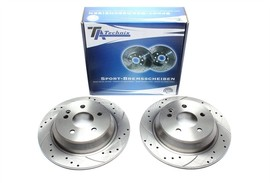 Mercedes-Benz Viano/Vito Bus/Vito Mixto/Kasten Комплект спортивных тормозных дисков