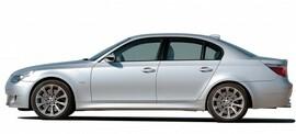BMW E60/ E61 03-10 Пороги JOM Sportlook