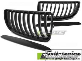 BMW E90/E91 05-08 Решетки радиатора (ноздри) черные, глянец