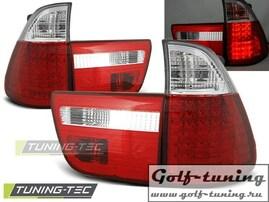 BMW X5 99-03 Фонари светодиодные, красно- белые