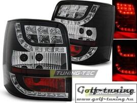 VW Passat B5+ 00-04 Универсал Фонари светодиодные, черные