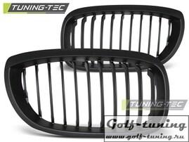 BMW E46 03-06 Купе Решетки радиатора (ноздри) черные