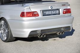 BMW E46 98-01 Купе/кабрио/седан Задний бампер M3-Look
