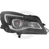 Opel Insignia 13-17 Фары под галоген с LED дхо