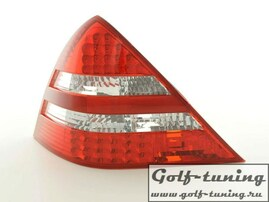 Mercedes SLK R170 96-04 Фонари светодиодные, красно-белые