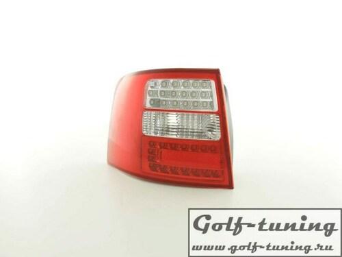 Audi A6 4B 97-04 Универсал Фонари светодиодные, красно-белые