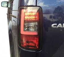 VW Caddy 03-15 Фонари светодиодные, Light bar design черные