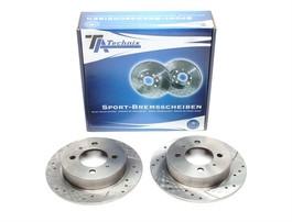 Nissan 100NX/Almera/ Sunny Комплект спортивных тормозных дисков