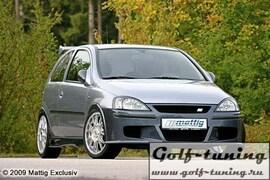 Opel Corsa C Передний бампер