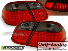 Mercedes CLK W208 97-02 Фонари светодиодные, красно-тонированные