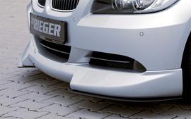 BMW E90/E91 04-08 Накладка на передний бампер