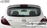 Opel Corsa D 3Дв Спойлер на крышку багажника