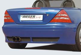 Mercedes R170 00-04 Накладка на задний бампер