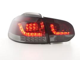 VW Golf 6 (1K) 08-13 Фонари светодиодные красно- тонированные