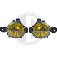 BMW E70/E81/E82/E83/E87/E88 Комплект желтых противотуманных фар для M бамперов