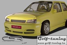 Opel Corsa A 83-93 Ресница Badlook из металла X-Line design