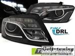Audi Q5 08-12 Фары Daylight черные